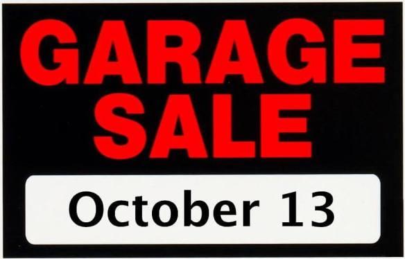 Saturday october 13 set for lakewood annual garage sale for Garage ad nancy